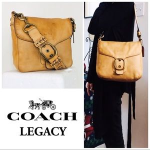 Coach Legacy Intentionally Distressed Bleecker Bag